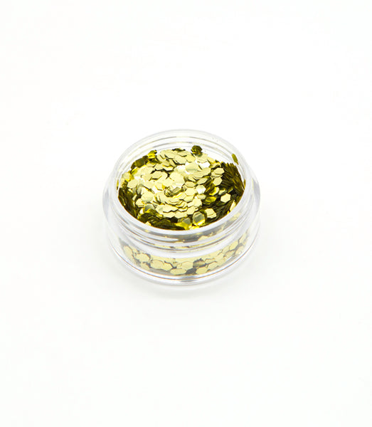 Bio-degradable Eco-Glitter- Super Chunky Gold
