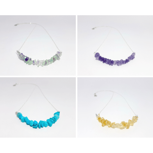 Wanderlust Gemstone Necklace (Assorted) - Lakota Inspirations