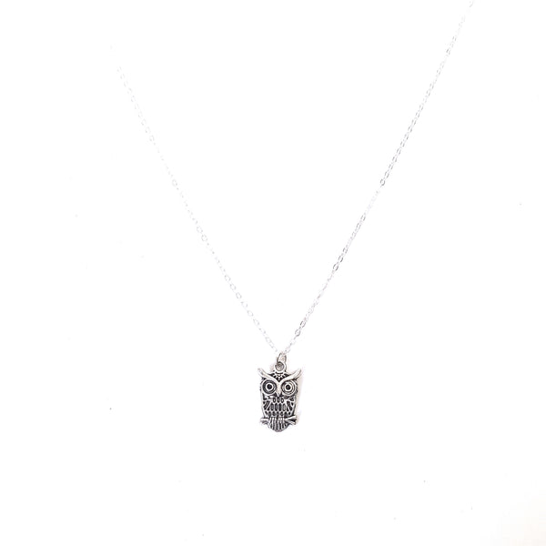 Owl Charm Chain Necklace - Lakota Inspirations