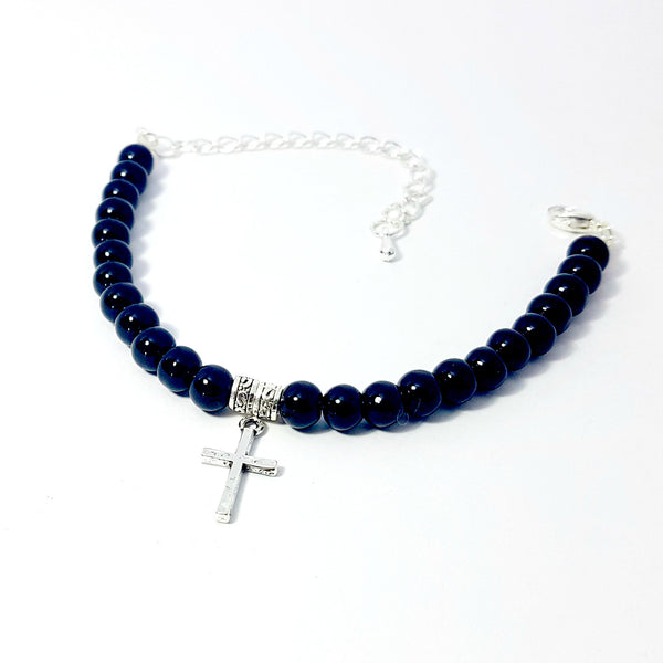 The Charmed Bracelet- Cross - Lakota Inspirations
