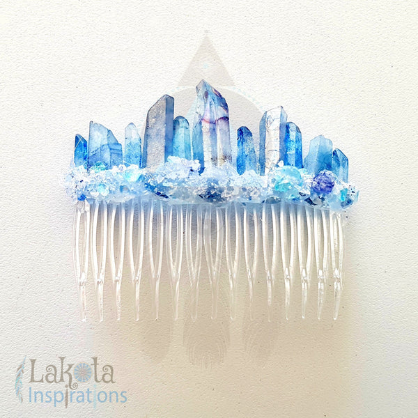 The River Queen Crystal Hair Jewel - Lakota Inspirations