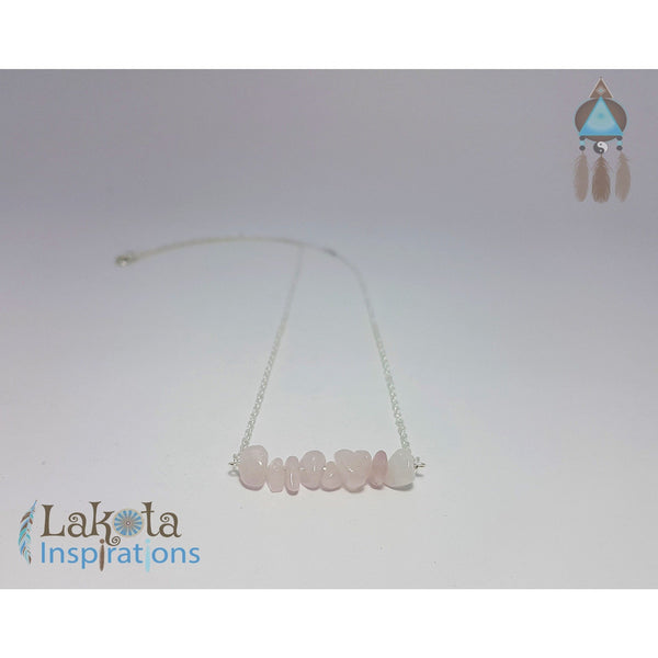 Gemstone Silver Bohemian Necklace - Lakota Inspirations