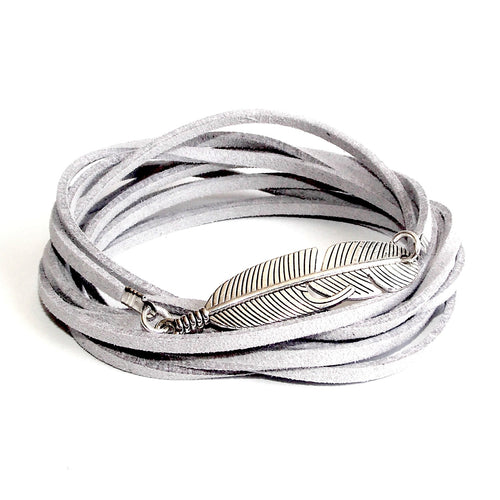 Silver Feather 3-in-1 Wrap (Assorted Colours) - Lakota Inspirations