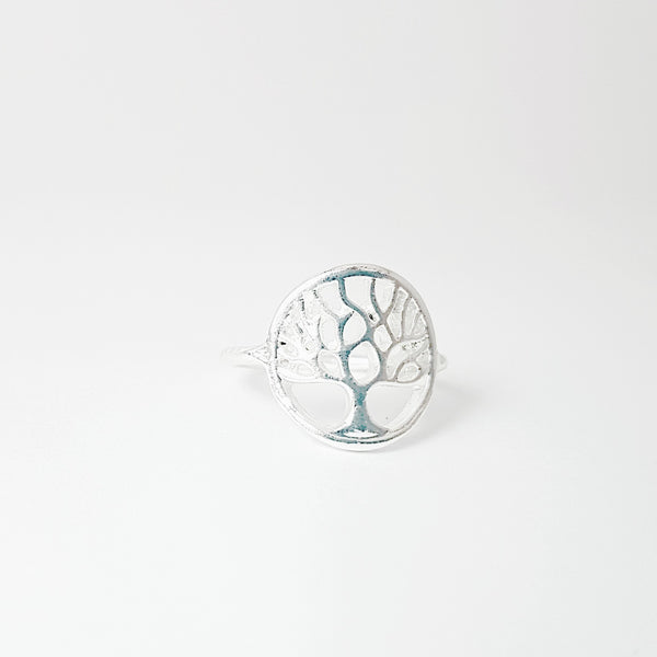 Tree of Life Silver Plated Ring - Lakota Inspirations