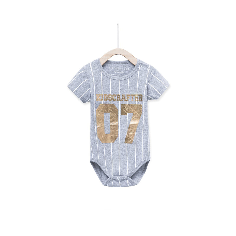 Kidscrafter 07 Baby Romper - Heather