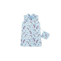 Believe in Unicorns Cheongsam - Blue