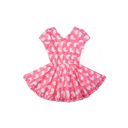 Cheeky Chick Dress - Bubblegum Pink