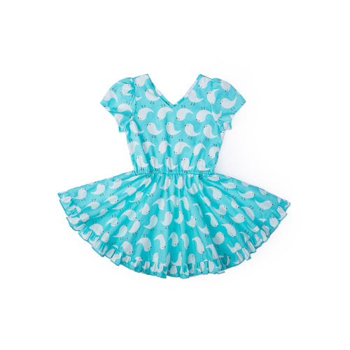 Cheeky Chick Dress - Summer Blue