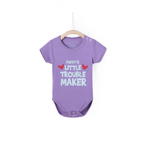 Daddy's Little Trouble Maker - Purple