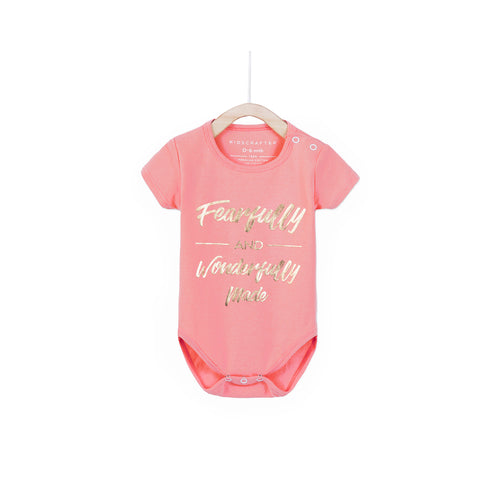 Fearfully and Wonderfully Made - Light Pink
