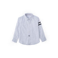 Graph Check Long Sleeve Shirt - Smoke White