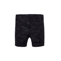 Camouflaged Shorts - Black