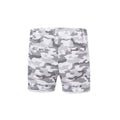 Camouflaged Shorts - White