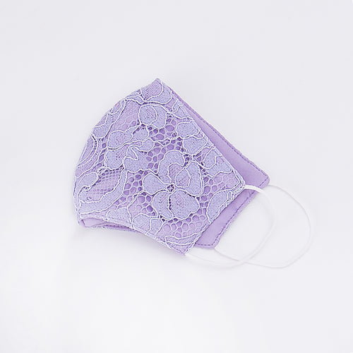 Little Spring Lace Mask - Purple