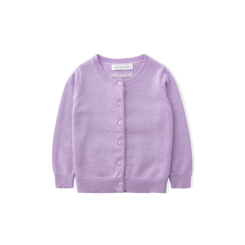 Comfit Cardigan - Purple