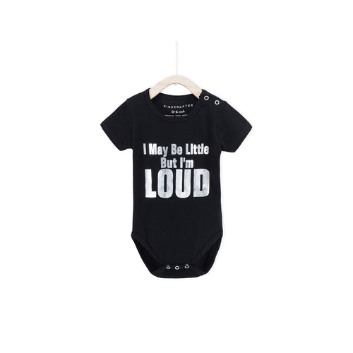 I May Be Little But I Am Loud - Black
