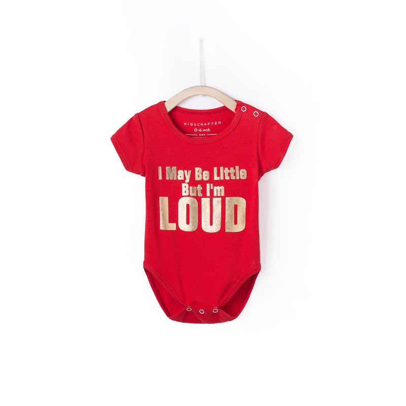 I May Be Little But I Am Loud - Red