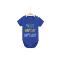 I'M Cute Mom's Hot Dad's Lucky Onesie - Blue