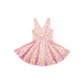Bounty Pineapple Sleeveless Dress - Pink Milkshake