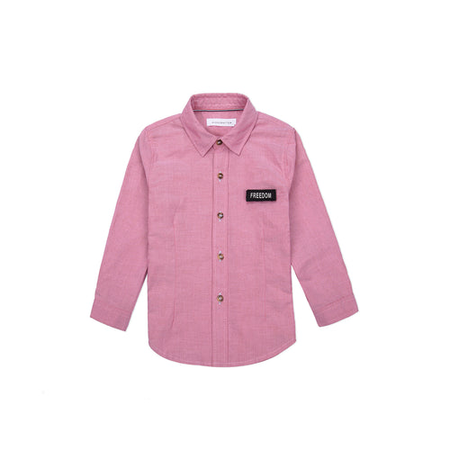 Tag Freedom Long Sleeve Shirt - Cerise