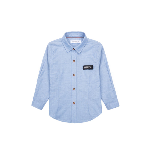 Tag Freedom Long Sleeve Shirt - Lightning Blue