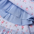 Victorian Roses Dress - Powder Blue