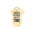 Ladies Please One At A Time - Yellow