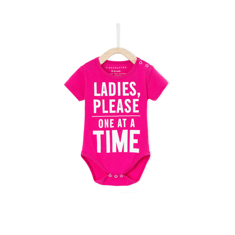 Ladies Please One At A Time - Pink