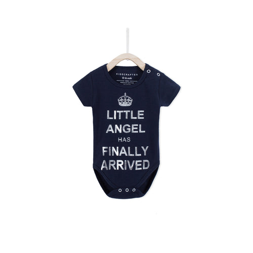 Little Angel Has Finally Arrived - Navy
