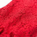 Little Mermaid Lace Cheongsam - Red