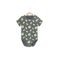 One And Only Durian Romper - Gray