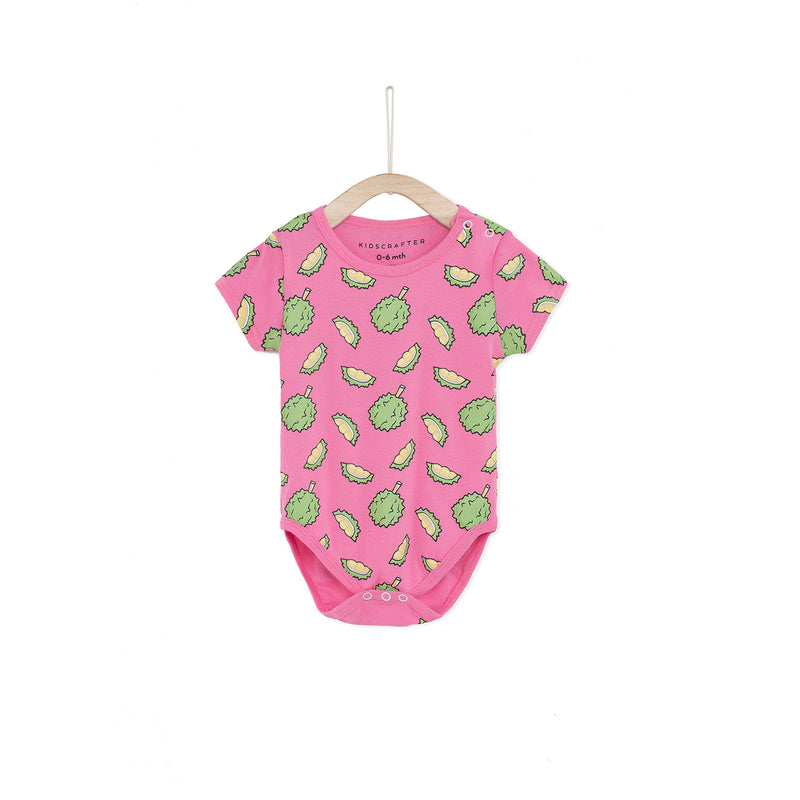 One And Only Durian Romper - Pink