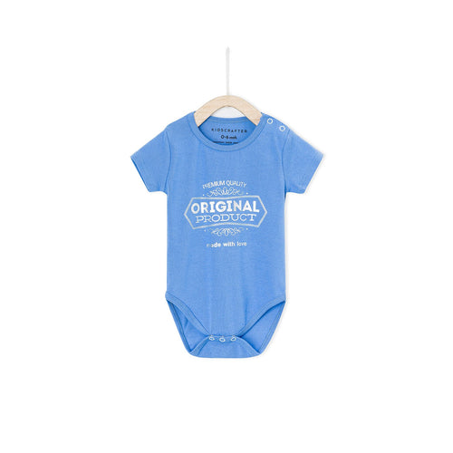 Original Production Made With Love Baby Romper - True Blue