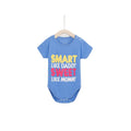 Smart Like Daddy Sweet Like Mummy - Light Blue