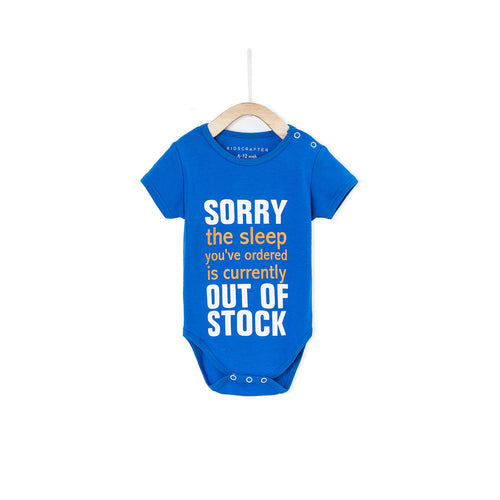 Sorry The Sleep You've Ordered Is Currently Out Of Stock - Blue