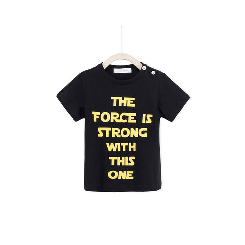 The Force Is Strong With This One - Black