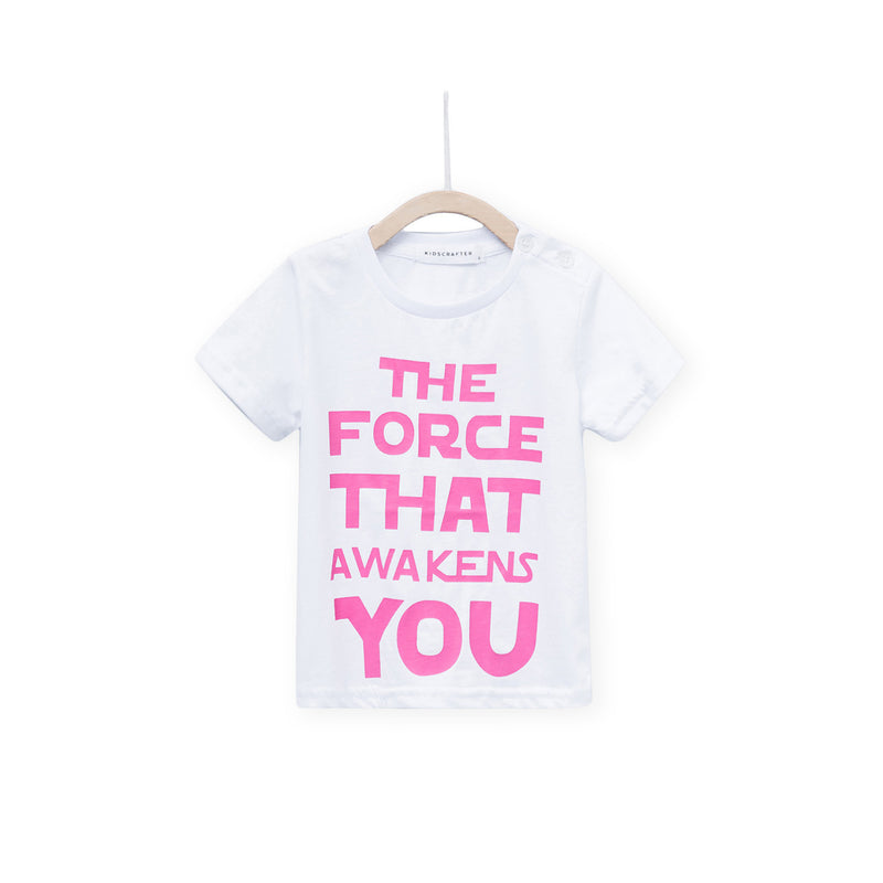 The Force That Awakens You - White