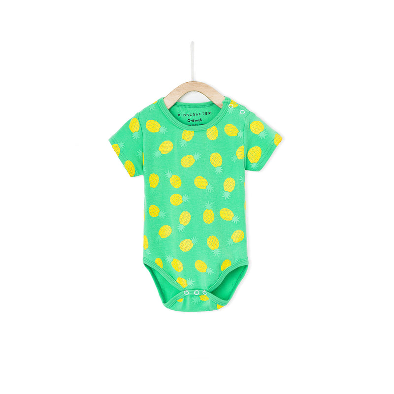 You're The Pineapple Of My Eye Romper - Green