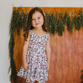 Urban Tropika Sleeveless Dress - Dainty Daisy