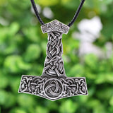 Norse Viking Thor's Hammer  Necklace - VikingDragons