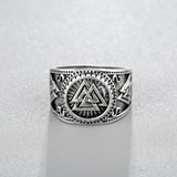 New Viking Valknut Signet