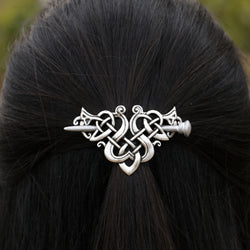 Celtics Crown Hairpins Knots - VikingDragons