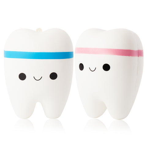 Jumbo Tooth Squishy (One Randomly Selected)