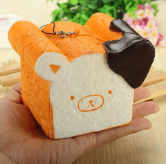 Jumbo Rilakkuma Chocolate Toast Squishy