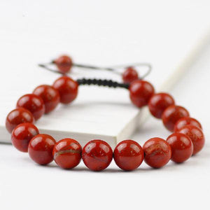 Red Jasper 'STIR the PULSE' Unisex Bracelet