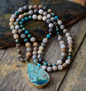 'TEARS of the OCEAN'-Jasper Stone 33
