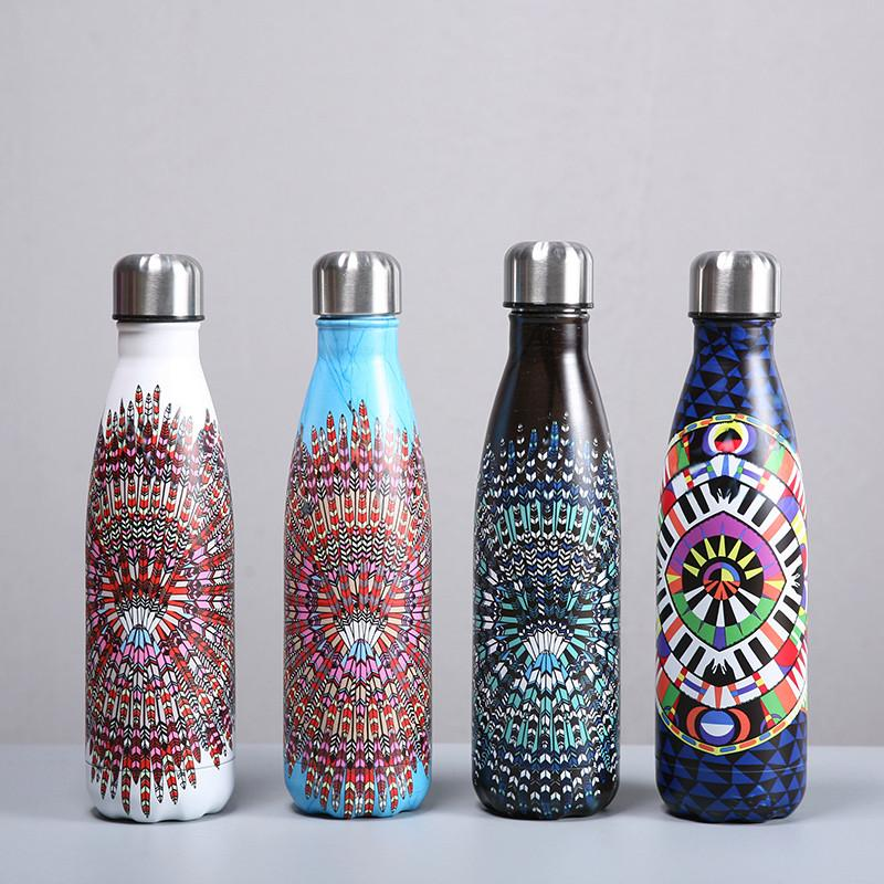Unique Zen Mandala Design 500ml Stainless Steel Insulated