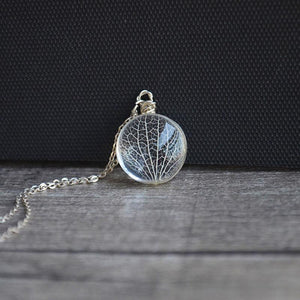 925 Sterling Silver & Glass Tree Of Life Pendant Necklace