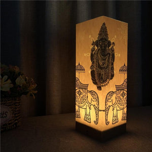 Warm Glow Attractive GANESHA STATUE SHADOW LIGHT Lamp