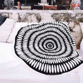 THE BLACK & WHITES Mandala Tapestry- 6 Classic Designs